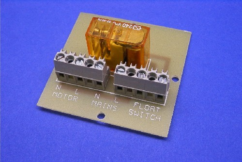 PCB (complete with Relay)